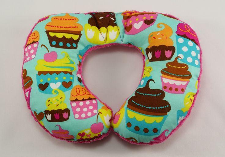 #cupcake #handmade #travelpillow #forkids #minky #kids #baby #travel #pillow #littlesophie #pink #sweet
