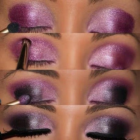 Galactic Purple Eyes Shadows