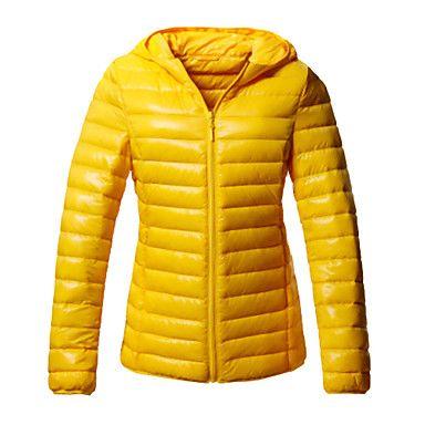 Slim Jacket yellow!