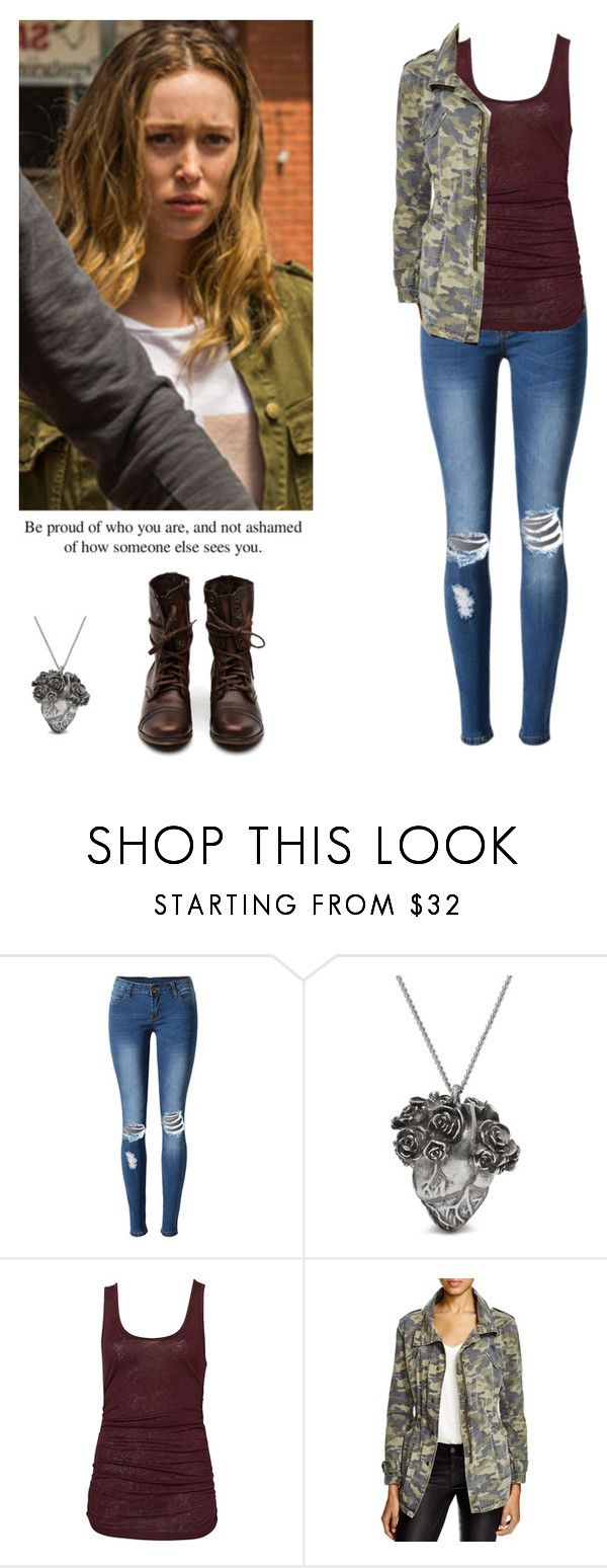 """Alicia Clark cold weather outfit - ftwd / fear the walking dead"" by shadyannon ❤ liked on Polyvore featuring WithChic, Mulberry and Velvet by Graham & Spencer"