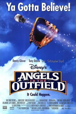 Angels in the Outfield! A heartfelt baseball movie perfect to enjoy with your kids on a night the Syracuse Chiefs don't have a game!