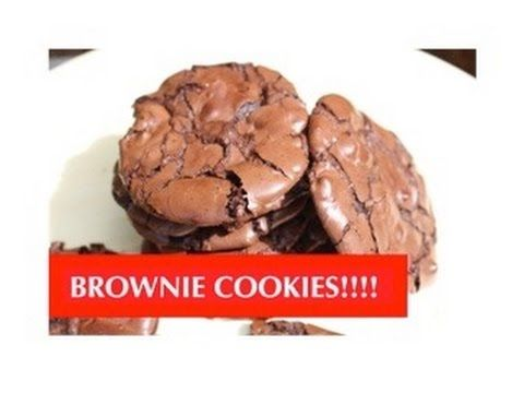 HOW TO BAKE BROWNIE COOKIES! ABEYGALE - YouTube