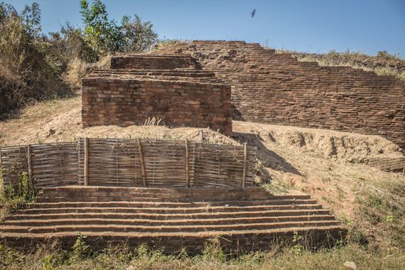 The ancient Pyu city of Sri Kestra, Pyay, Myanmar (Burma)