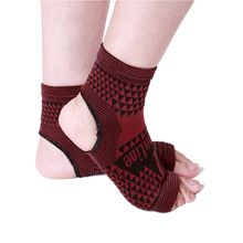 2 pcs Elastic Knitted tourmaline magnetic therapy Ankle Brace Support Band Sports Gym Protects Therapy shoes ankle protector //Price: $US $3.68 & FREE Shipping //
