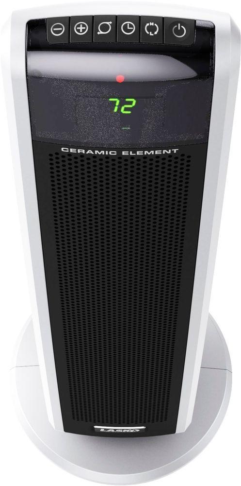 Portable Digital Ceramic Tower Heater With Remote Control Electric Timer Lasko Lasko Lasko Heater Tower Heater