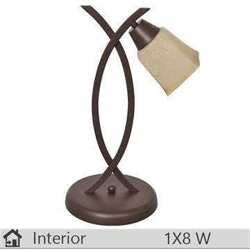 Veioza iluminat decorativ interior Klausen, gama Ramo, model TL1