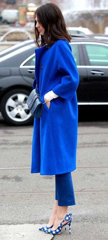 Blue Blue Blue. #feelingblue #awesome #fashion