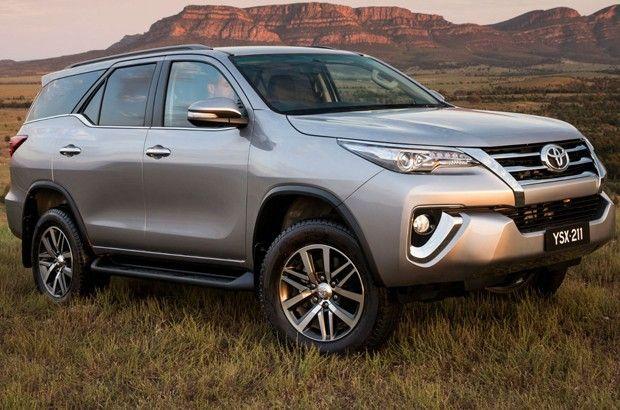 Toyota Fortuner, modelo australiano da Hilux SW4 (Foto: Divulgação)