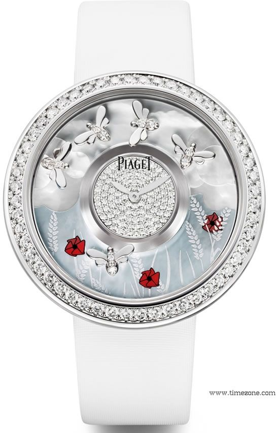 """Superb Nature-Inspired """"Four Seasons"""" Piaget Watches 2"""