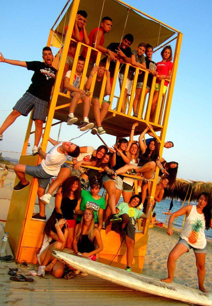 Σχολή Στελεχών Κατασκήνωση Τσαφ Τσουφ  Summer camp Tsaf Tsouf School of staff