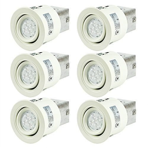 SGL 3-Inch LED Recessed Lighting Kit with GU10 Non-Dimmable 6W LED Bulbs  sc 1 st  Pinterest & Best 25+ Recessed light bulbs ideas on Pinterest | Recessed ... azcodes.com