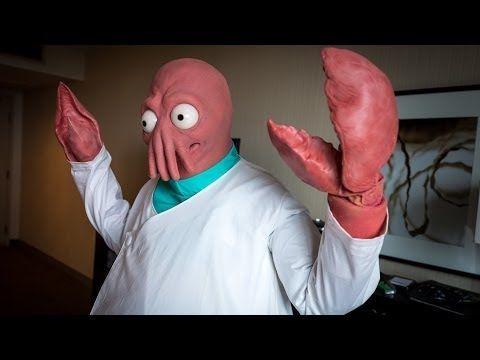 Making a Real-Life Zoidberg Costume! - YouTube