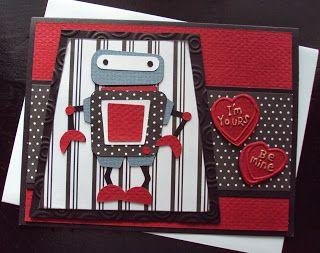 16 best robotz images on pinterest cricut cards scrapbooking