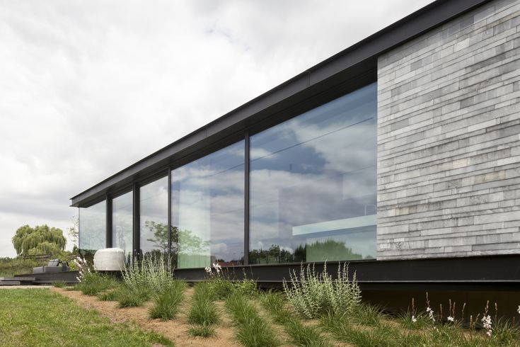 Gallery of H-Shaped House with Office / sam architects - 15