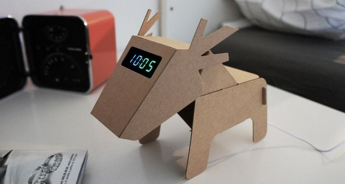 DIY Eco Cardboard Animals