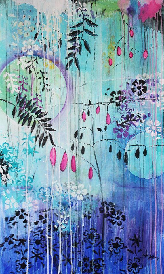 Ber ideen zu landschaftskunst auf pinterest - Leinwand dekorieren ...
