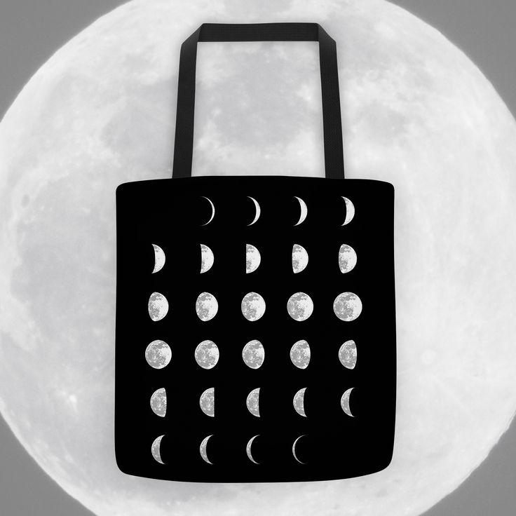 Lunar Phases - Tote Bag