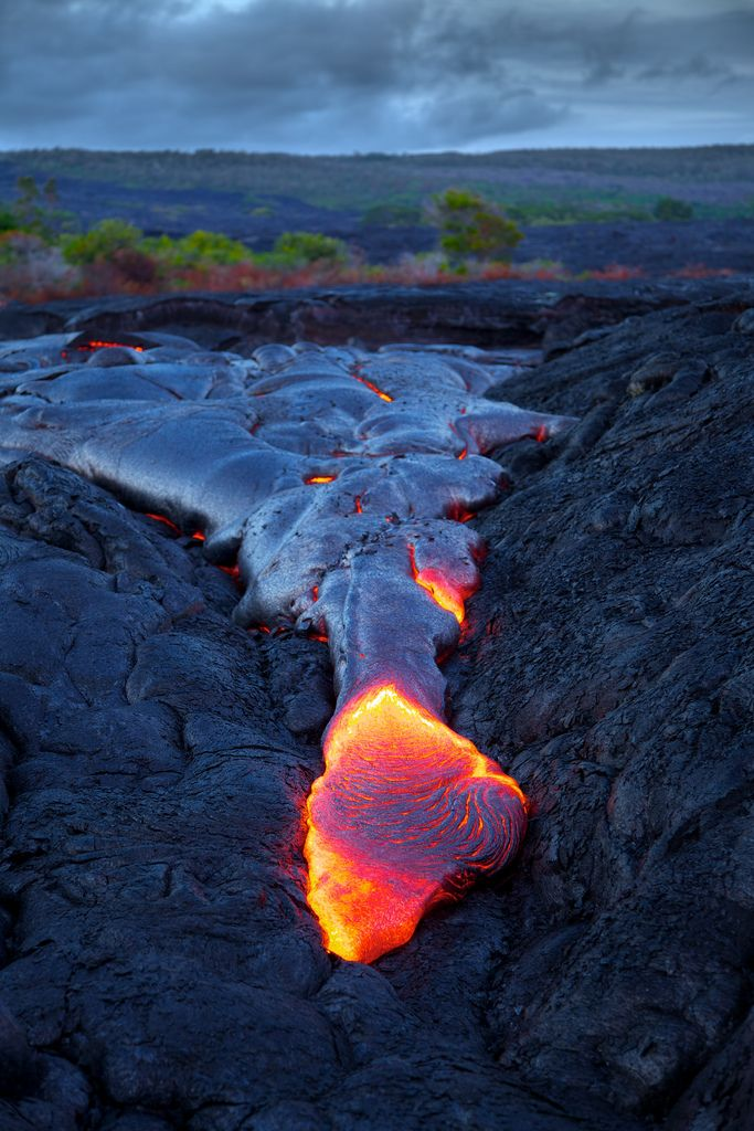 to see lava.