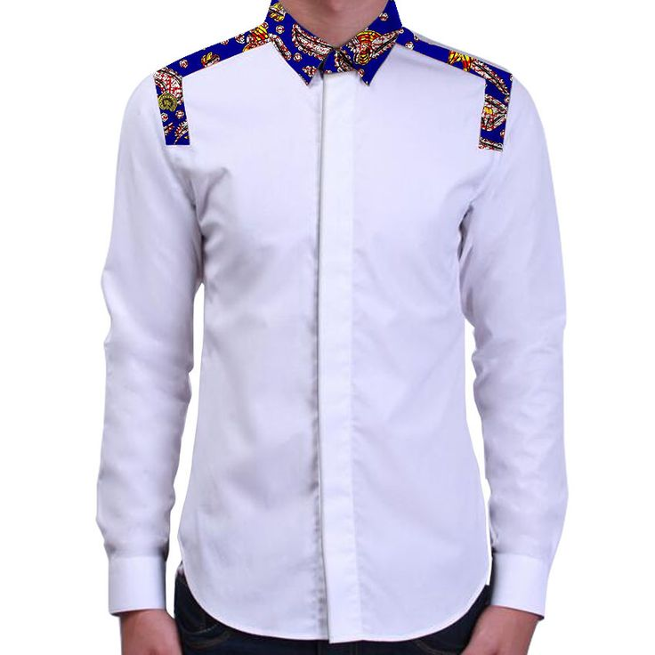 African print mens shirts tailored made patchwork designs africa clothing african fashion dashiki clothes