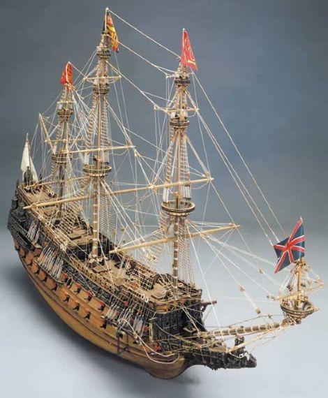 Ship Model Mantua - Sovereign of Seas - 100 Gun First Rate Ship of the Line