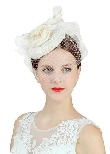 16 best hats images on Pinterest | Weddings, Hair dos and Wedding veil