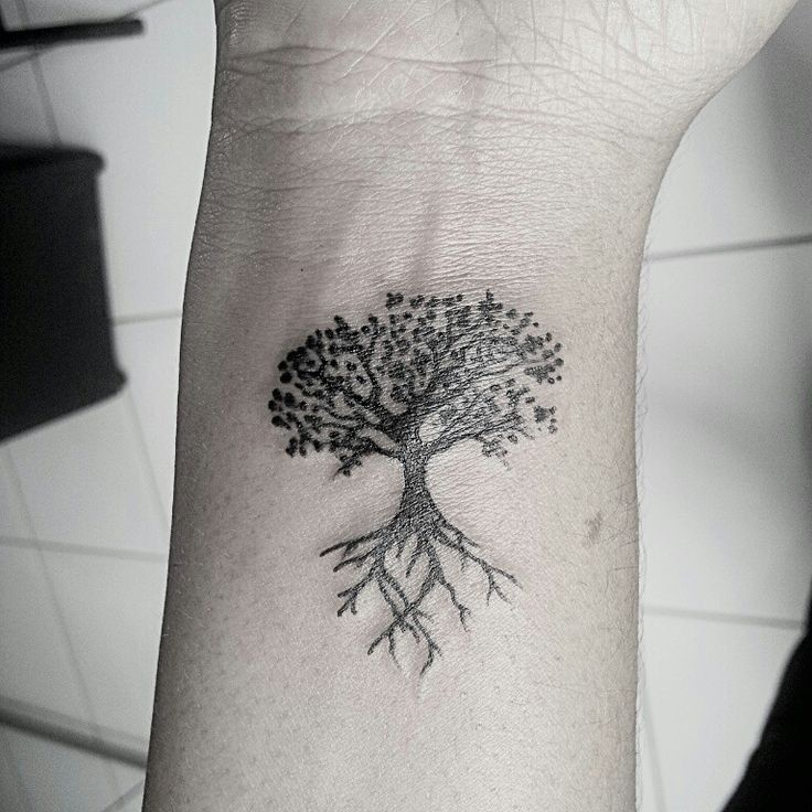 Small Jacaranda Tattoo: Árvore Da Vida