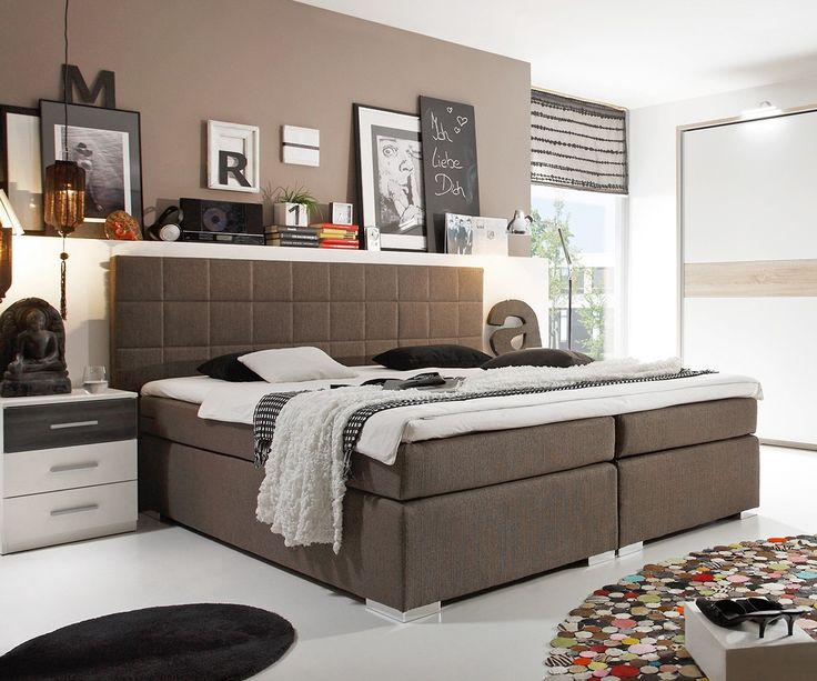 31 best boxspringbetten mehr z rtlichkeit f r alle images on pinterest products twin size. Black Bedroom Furniture Sets. Home Design Ideas
