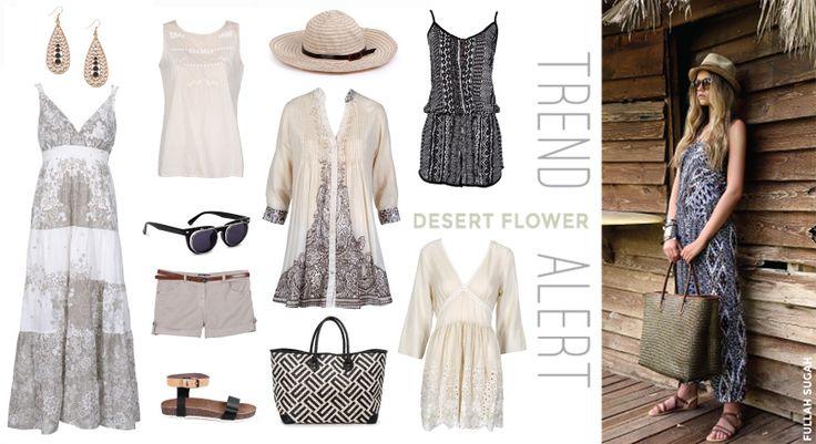 FULLAHSUGAH Trend Alert! Τα πάντα αγαπημένα ουδέτερα χρώματα, συνδυάζονται τέλεια με ethnic African prints. #fashion #trends #dresses #bags #summer_look #style #sandals