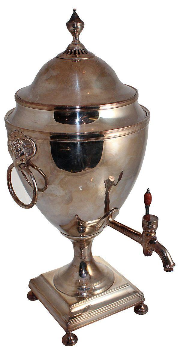 Old Sheffield Tea Urn | Bring It Back | One Kings Lane