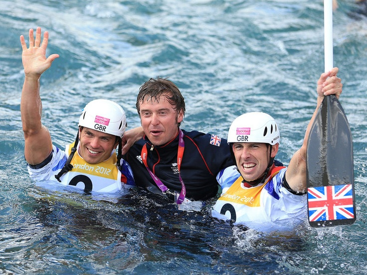 Gold for Team GB in two man canoe slalom