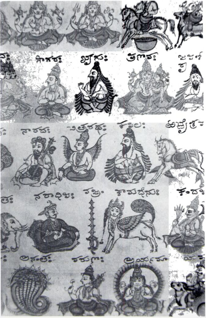 The 25 best astrology kannada ideas on pinterest telugu brides the many cosmic realms and its deities from a lithographed manuscript of the bhagavad gita in kannada mysore 1860 a fandeluxe Choice Image
