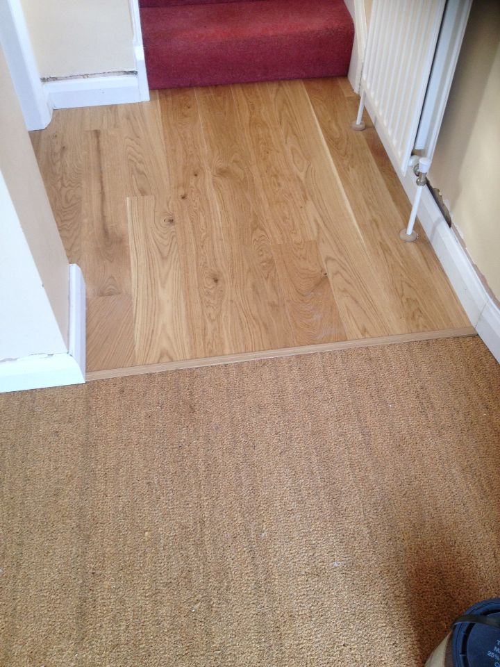 New Boen Floor Fitted With A Coir Matwell Finished With