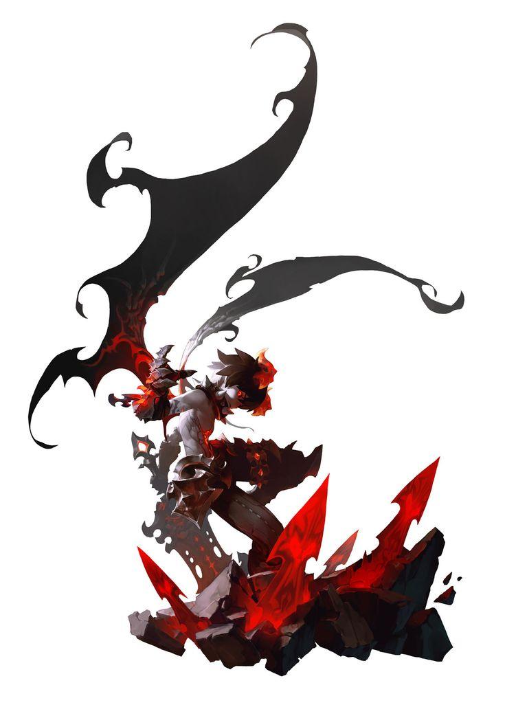 Dragon Nest_Dark Avenger by Doo