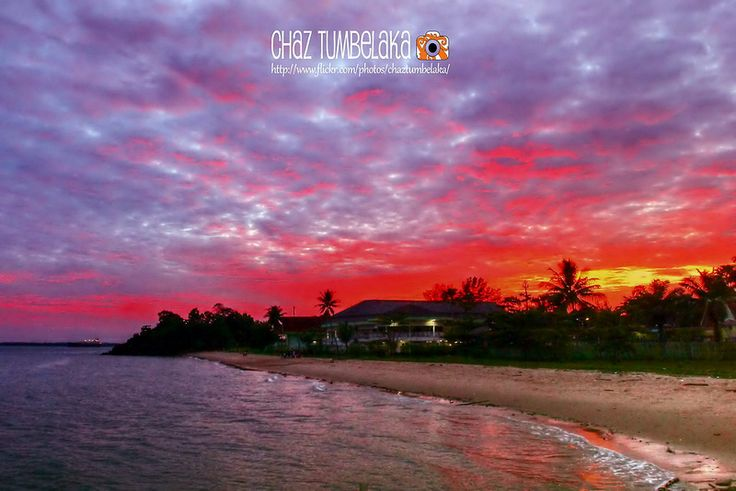 Dramatic Sunset in Balikpapan - Banua Patra Beach