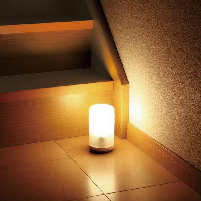 乾電池式LEDセンサーライトBSL-10Lホワイト