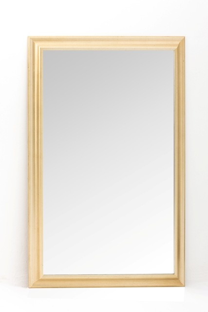 Rectangular Gold Mirror   1.25m x 85cm