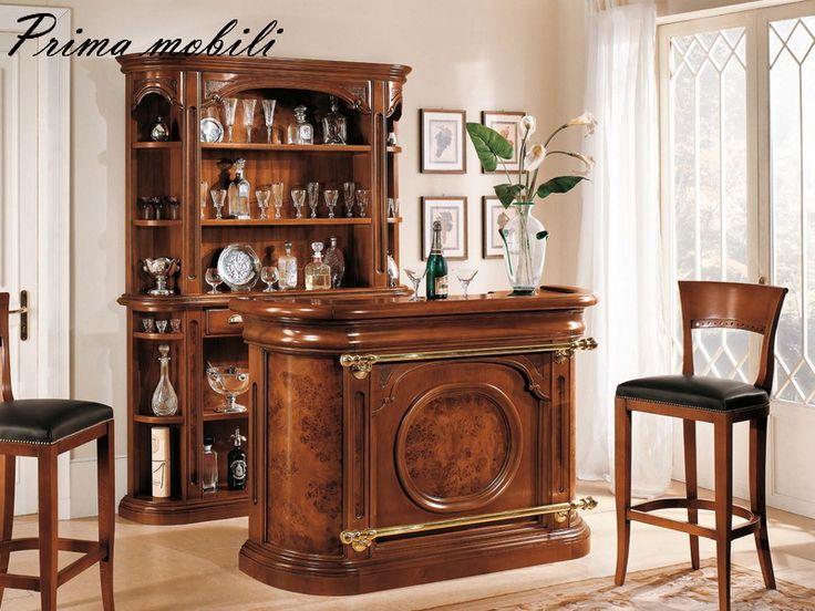356 барный стеллаж классического дизайна из Италии Scappini