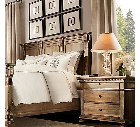 20 best images about crystal lamps on pinterest mirrored for Restoration hardware bedside tables