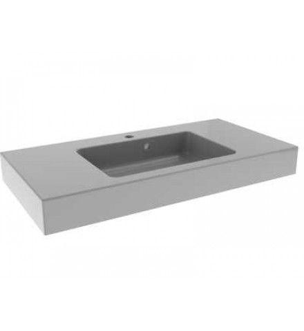 Deze Bruynzeel Bando wastafel van 90 x 45 cm breed is voorzien van 1 kraangat. In de kleur wit is dit badkamermeubel een ware aanwinst voor jouw badkamer. Bruynzeel badkamersanitair; alles voor jouw persoonlijke stijl Iedereen heeft and