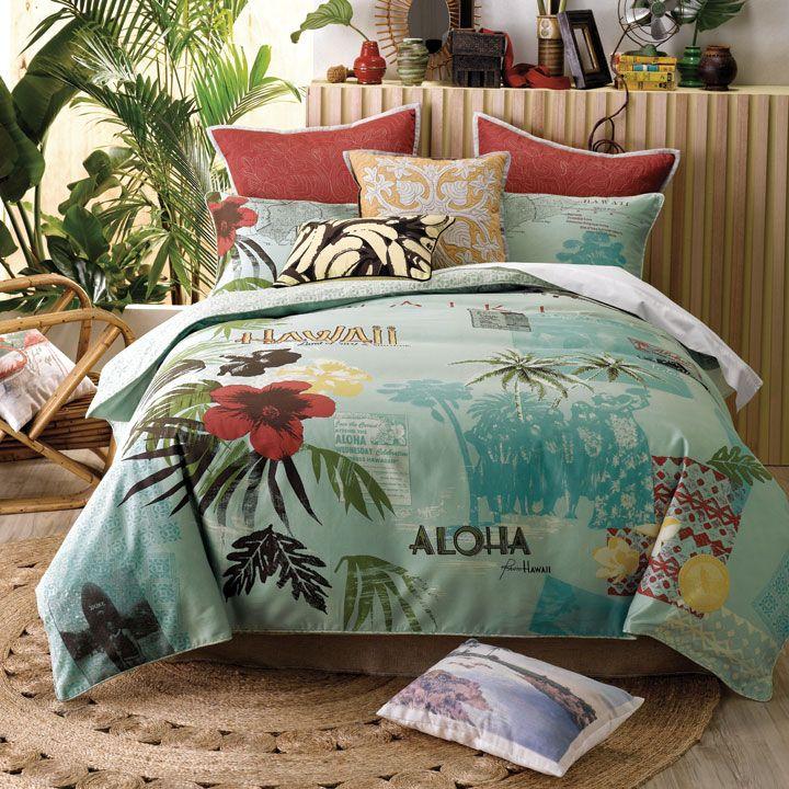 hawaiian decor tropical bedrooms and hawaiian theme bedrooms