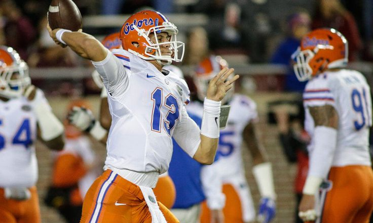 Film Room: Feleipe Franks in Florida's spring game = The latest new hope at quarterback for the Florida Gators is redshirt freshman Feleipe Franks. A 6-6, 219-pound signal caller from the panhandle, Franks was a 4-star recruit who flipped from LSU to UF during the 2016 recruiting cycle. The 2017 Orange and Blue Debut was…..