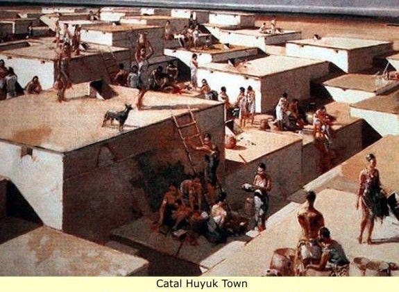 catal_huyuk_town.jpg 575×420 pixels