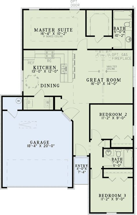 17 best ideas about starter home plans on pinterest home for Starter home floor plans