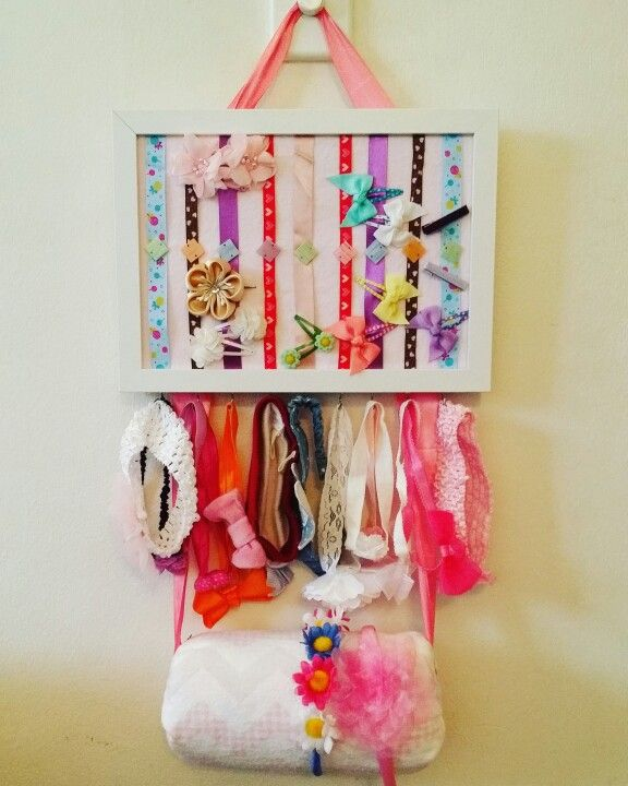 Hair clips, Head bands and hair bands holder
