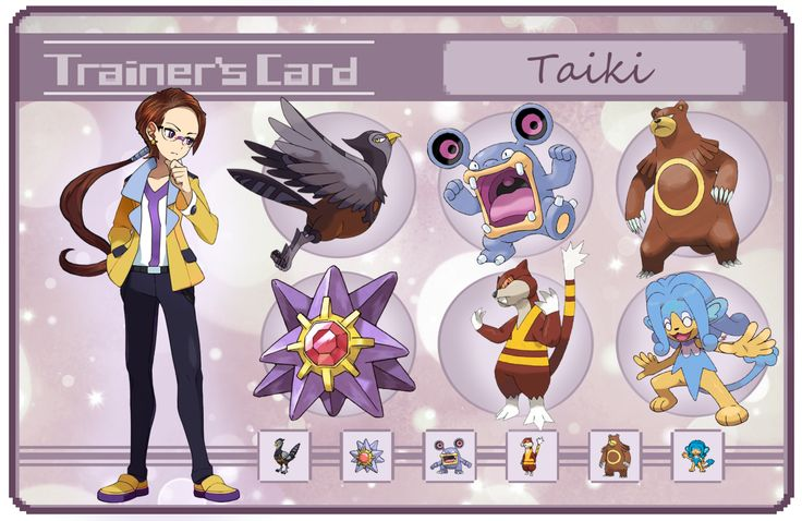 Taiki trainer card