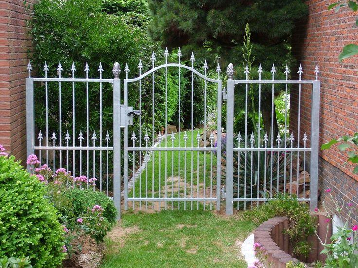 Gartentür mit Zaunelement