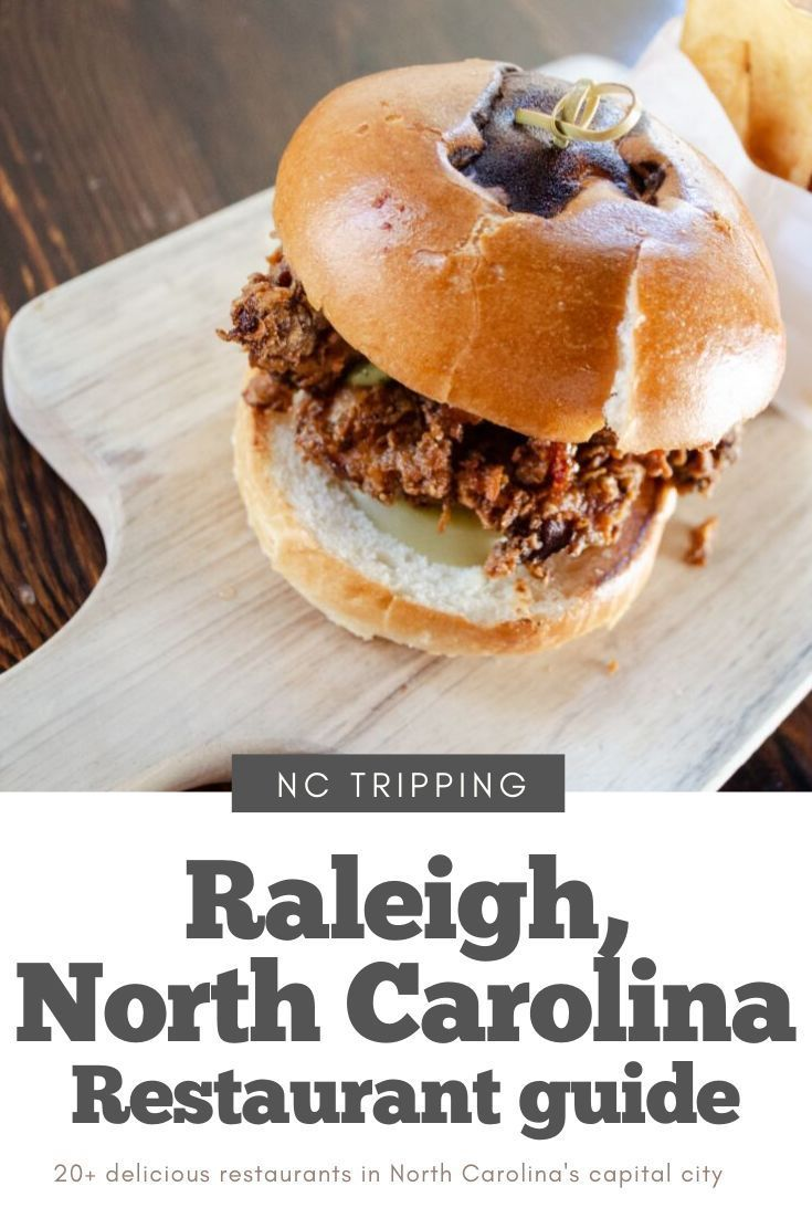 This Restaurant Guide Will Give You The Best Restaurants To Eat While In Raleigh North Ca North Carolina Food Best Restaurants In Raleigh Delicious Restaurant