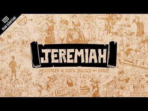 Read Scripture Series: Great animated video explaining the meaning and message of the book of Jeremiah - from The Bible Project