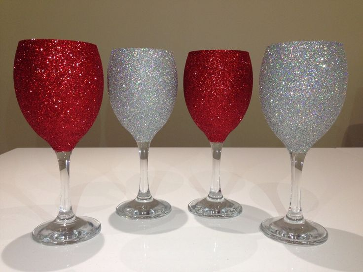 23 best Glitter glasses made by myself and others images ...