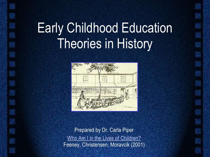 early childhood theorists theories Early childhood development theories theory posits that early human relationships and experiences lay the foundation for later development and learning.
